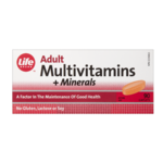 Life Brand Adult Multivitamins and Minerals Caplets