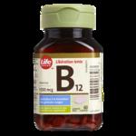 Vitamine B12 Life Brand – Comprimés de 1 000 mcg à Libération Prolongée