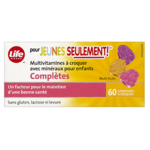 Vitamines Multiples Avec Minéraux Complets Pour Enfants Seulement Life Brand - Comprimés à Croquer