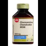 Life Brand Glucosamine, Chondroitin & MSM 1300mg Caplets
