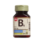 Vitamine B6 Life Brand – Comprimés de 100 mg