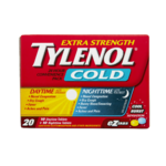 Tylenol Extra Strength Cold 24 Hour Convenience Pack 20 Tablets