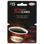 Tim Hortons $15