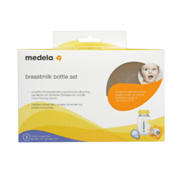 Medela Breastmilk Bottle Set 3 x 150mL