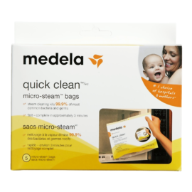 Medela Quick Clean Micro-Stream Bags 5 Bags
