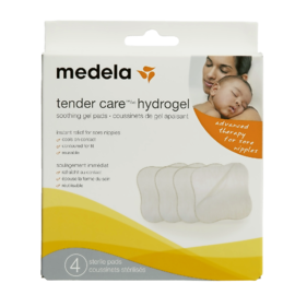 Medela Tender Care Hydrogel Soothing Gel Pads 4 Pads